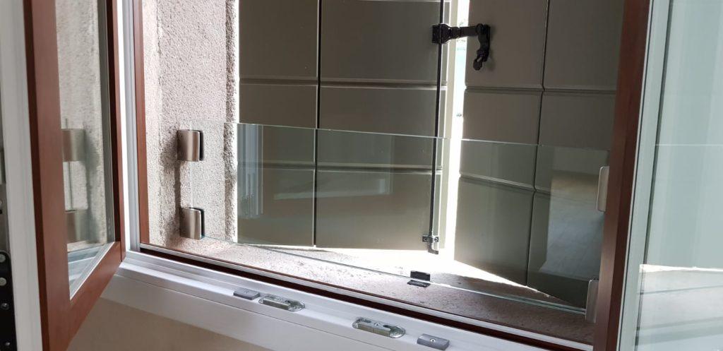 Parapetto finestre basse