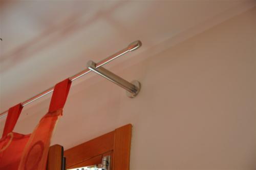 A13-Supporto palo tende in acciaio