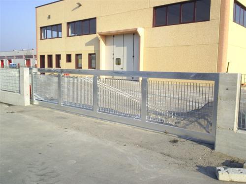 B101-Cancello industriale zincato