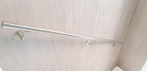 C14-Corrimano inox lucido a specchio