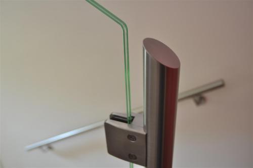 G125-Pinza per fissaggio vetro