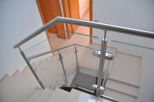 G59-Parapetto scala in vetro