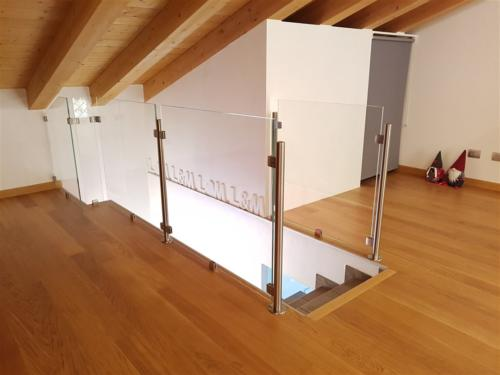 G98-Balaustra scala in vetro